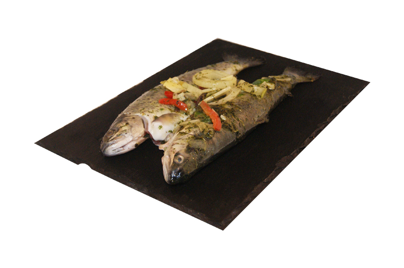 Forel in franse marinade