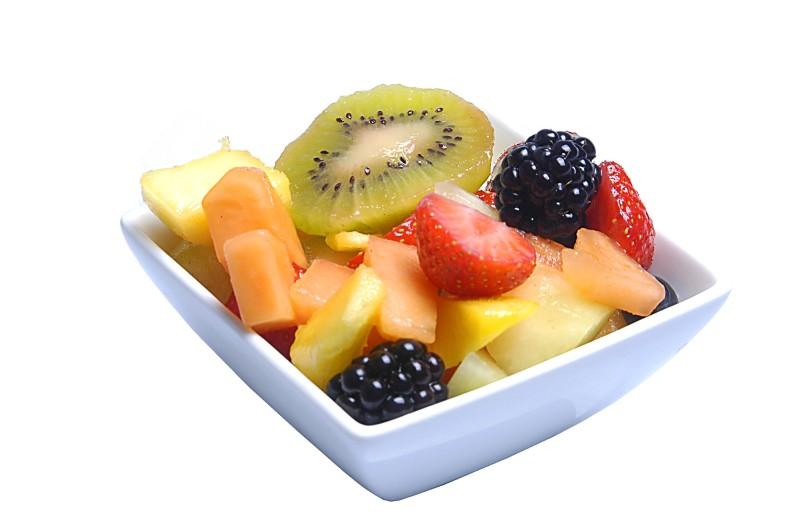 Vers fruit salade biologische slagerij haverkort for Vers de salade