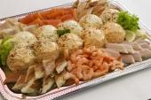 Zalm huzaren salade