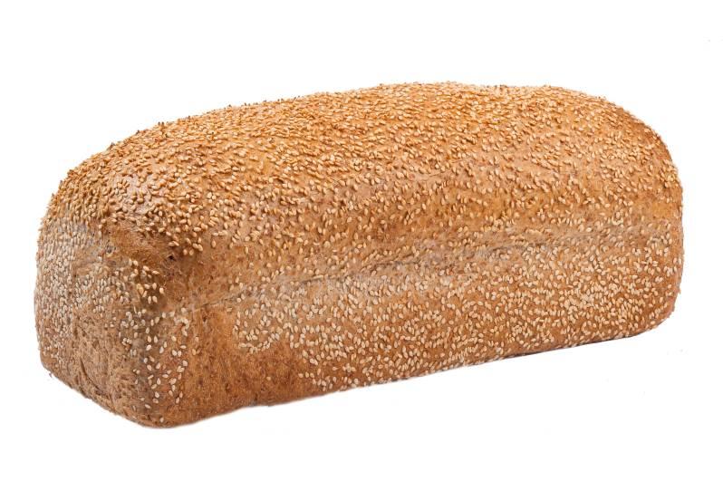 Volkorenbrood vloer sesamzaad