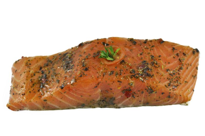 Zalm filet (gemarineerd)