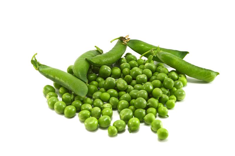 Groene ertwten