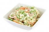 Tomaat mozarella salade