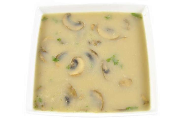 Bospaddestoelen soep