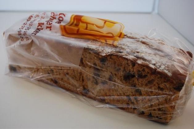 Oude-wijven koek met rozijnen