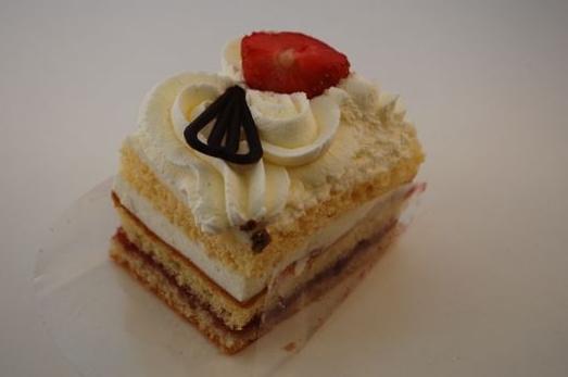 Slagroom cake gebakje