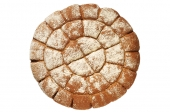 Molensteenbreekbrood bruin