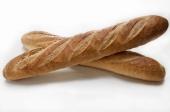 Gesneden stokbrood wit