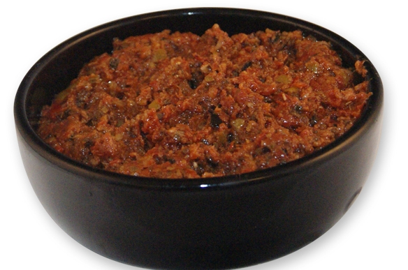 Bruschetta met tomaat-kruidentapenade