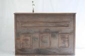 Bar ombouw bruin inclusief tap (160x60)