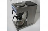 Koffiezetapparaat met 2 glazen kannen