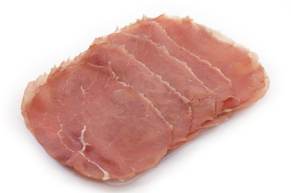 Rookvlees licht gezouten