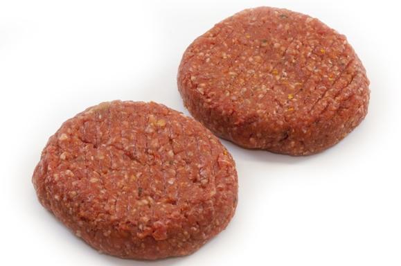 Rundvleeshamburger