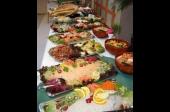Koud buffet vlees/vis