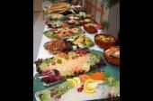Koud buffet met vis