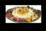 Saladeschotel vlees/vis