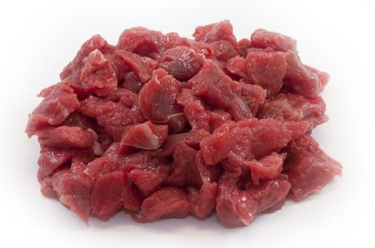Goulashvlees vanaf 250 gram (Limousin rundvlees)