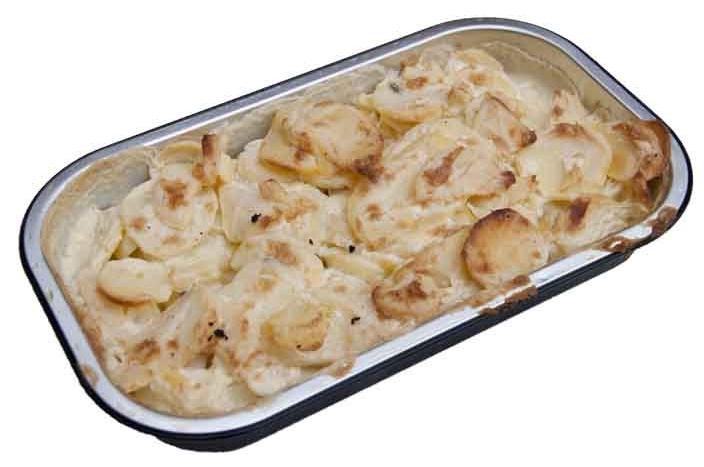 Aardappel gratin, naturel