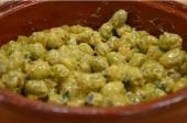 Honing mosterd olijven