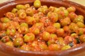 Pittige olijven