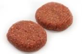 BBQ runder hamburger