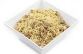 Nasi met kip in Chinese saus