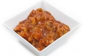 Bami, met babi-pangang of saté