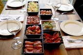 Gourmetschotel de luxe