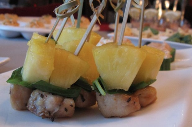 Gebraden kipfilet met ananas