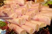 Ham met asperge