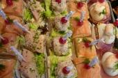 Vis salade 'de luxe'