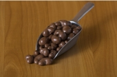 Cashew in chocolade melk
