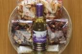 Geschenkmand witte wijn