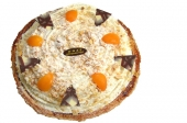 Spaanse abrikozen op korst