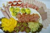 Schotel met vleeswaren van de allerbeste kwaliteit