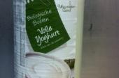biologische yoghurt