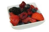 Rood fruit salade