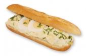 Broodje eiersalade serranoham