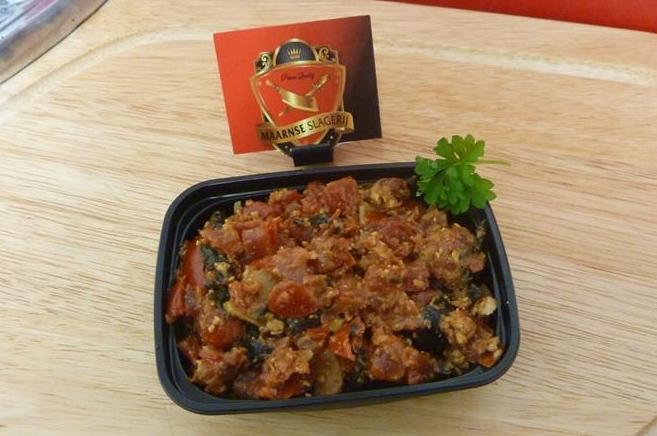 Bruchetta Tapenade met zwarte olijven en zongedroogde tomaatjes