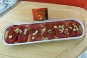 Kogelbiefstuk in peperroomsaus