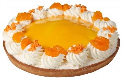 Sinaasappel bavaroise vlaai