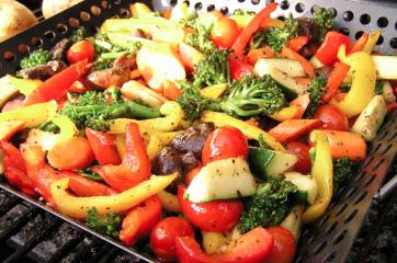 Vegetarische groenteschijf