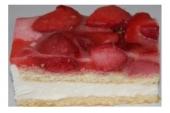 Aardbeien gebak (glutenvrij)