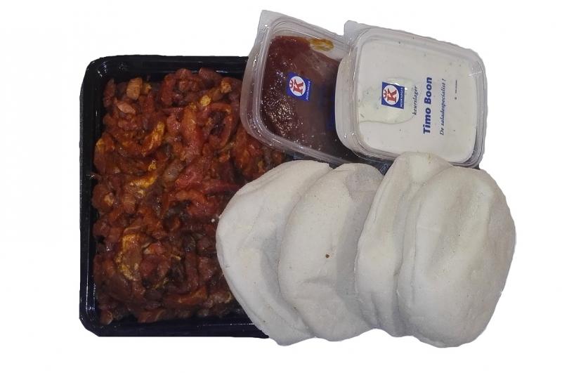 Varkensshoarmapakket