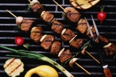 Barbecue pakket kant en klaar
