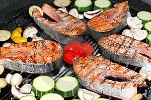 Barbecue vismenu