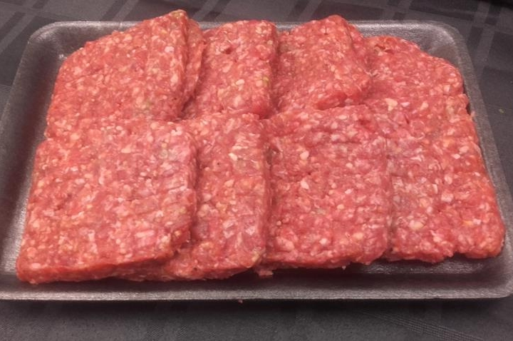Runder kebabburgers
