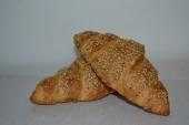 Croissant met sesam
