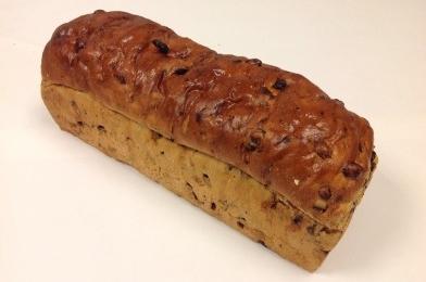Krenten/rozijnen brood
