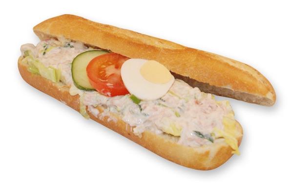 Broodje ham-preisalade